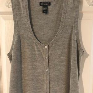 Gray Sweater Vest